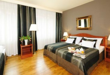 , Hotel Belvedere Prague has now 4 stars