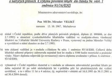 Dr-Miroslav-Veliky-Ministry-of-Health-Certificate